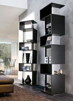 black curio cabinet modern style