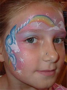 Face Painting Unicorn, Cool Face, Face Paintings, Make Up, Fantasy, Star, Studio, Ideas, Makeup