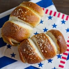 Homemade soft pretzels wrapped around a hot dog and baked to perfection. Good Food, Yummy Food, Fun Food, Food Art, Yummy Recipes, Wrapped Hot Dogs, Homemade Soft Pretzels, Cheese Dog, Wrap Sandwiches