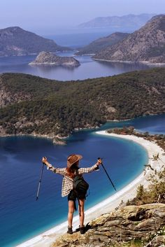 Who have ever tried trekking in #Oludeniz? Please share your experience!