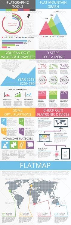 Flatgraphics - infographic tools - Infographics