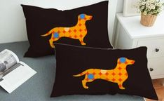 16 Cutest Dachshund Gifts for Dachshund Lovers Dachshund Gifts, Dachshund Love, Cute Office Desk Accessories, Dog Lover Gifts, Dog Lovers, Winter Shirts, Puppy Face, Backrest Pillow, Beach Towel