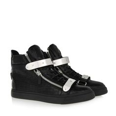 Sneakers - Sneakers Giuseppe Zanotti Design Men on Giuseppe Zanotti Design Online Store @@NATION@@ - Fall-Winter Collection for men and women. Worldwide delivery.| RU4015009 - NICKI