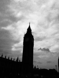 A punto de llover en Westminster.