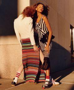 nice Imaan Hammam & Varya Shutova for Vogue US January 2016 by Jamie Hawkesworth  [editorial]