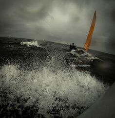 Stormy race!