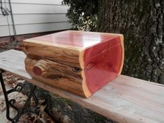 Large aromatic eastern red cedar jewelry by RusticRiverWoodwork