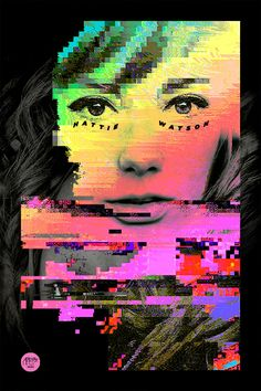 Creative Andytran, Hattie, Digital, Color, and Poster image ideas & inspiration on Designspiration Graphic Design Posters, Graphic Design Illustration, Digital Illustration, Poster Designs, Trans Art, Poster Design Inspiration, Design Ideas, Glitch Art, Colour Images