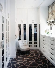 From Jamie Herzlinger. Seriously the best closet I've seen as far as look.