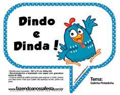 PLAQUINHAS-MOLDE-FNF-Galinha-Pintadinha_24.jpg (1564×1248)