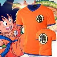 bd8734b0 New Arrival Men s Dragon Ball Z Anime Stylish Casual Short Sleeve T-shirt