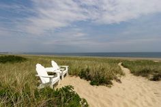 Beach cottage with great ocean views for rent on Sagamore Beach, Massachusetts, United States.