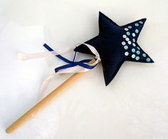 Felt wand Magic fairy blue wand Fairy accessories Magic Fairy, Wands, Felt, Trending Outfits, Unique Jewelry, Handmade Gifts, Blue, Accessories, Vintage