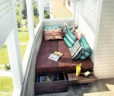 Home OfficeBalcony design is entirely important for the see of the house. There are appropriately many beautiful ideas for balcony design. Here are many of the best balcony design. Narrow Balcony, Small Balcony Design, Apartment Balcony Decorating, Apartment Balconies, Small Apartments, Small Spaces, Balcony Furniture, Bedroom Layouts, Porches