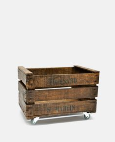 Crate on Wheels