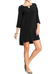 Women's V-Cutout Shift Dresses | Old Navy