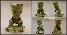 GROOT - Marvel FANART by buzhandmade.deviantart.com on @DeviantArt