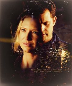 Great couples on Tv Shows: Peter & Olivia. Fringe.