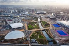 Good track record: International Architects Studio Aecom, based in Holborn London which was chosen to design the Rio site, was also responsible for creating London's much-heralded Olympic park in Stratford Rio Olympics 2016, Summer Olympics, Olympia, London 2012 Opening Ceremony, London Olympic Park, Olympic Venues, A As Architecture, Olympic Village, Landscape And Urbanism