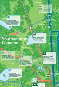 Southampton legible city map design