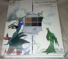 E.L.F. Disney Villains * MALEFICENT * Makeup Look Book Cosmetic Set Brand New