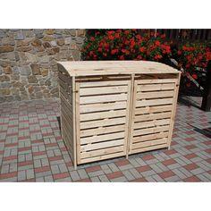 Mülltonnenbox Vario III für 2 Tonnen Natur im OBI Online-Shop - 180€