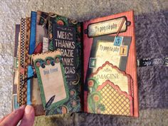 Typography Journal for the Typography Suitcase Desktop Organizer and configuration box by Anne Rostad
