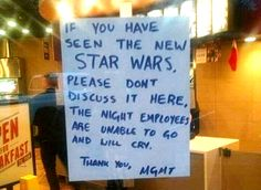 If You Have Seen the New Star Wars