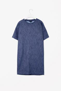 Metallic fibre dress