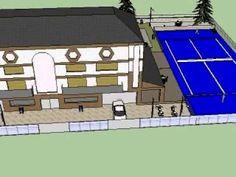 La casa creada con SketchUp. Una tarea realmente divertida