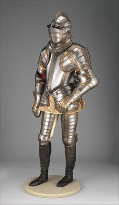 Jacob Halder | Armor of Sir James Scudamore (1558–1619) | British, Greenwich | The Metropolitan Museum of Art