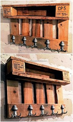 Make Some Fabulous Things with Recycled Pallets: Are you ready to give your wood pallets a second chance to get turn into the stylish home furniture products? Recycled Door, Recycled Pallets, Wooden Pallets, Pallet Garden Furniture, Recycled Furniture, Rustic Furniture, Deck Furniture, Furniture Storage, Industrial Furniture