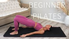 35 MIN FULL BODY PILATES WORKOUT FOR BEGINNERS || No Equipment - YouTube