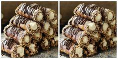 Vyzkoušejte tyto úžasné nepečené ořechové trubičky: Tyto trubičky nemusíte dělat jen na vánoce, jsou skvělým pokrmem celý rok! | Prima Christmas Baking, Christmas Cookies, Marijuana Recipes, Desert Recipes, Mini Cakes, Caramel Apples, Sweet Recipes, Holiday Recipes, Cookie Recipes