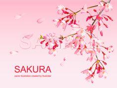桜 イラスト ピンク 474