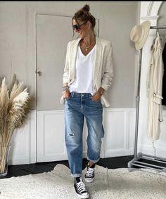 Outfit Jeans, Tomboy Fashion, Fashion Outfits, Womens Fashion, Vogue, Stylish Outfits, Fall Outfits, Spring Summer Fashion, Autumn Fashion