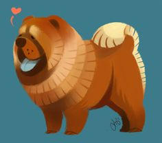 Chow Chow by ~Canvascope on deviantART