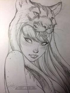 Art Vault — Art by J. Scott Campbell *