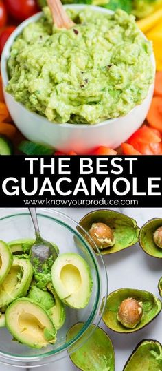 The Best Guacamole The best guacamole recipe filled with ripe avocados red onions cilantro lime juice and even lemon juice. Make this delicious dip recipe today! The post The Best Guacamole appeared first on Rezepte. Authentic Guacamole Recipe, Guacamole Recipe Easy, Mexican Food Recipes, Vegetarian Recipes, Cooking Recipes, Healthy Recipes, Cooking Kale, Gourmet, Recipes