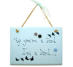 Handmade Personalised Wooden Sign / Plaque If by 2good2beWood