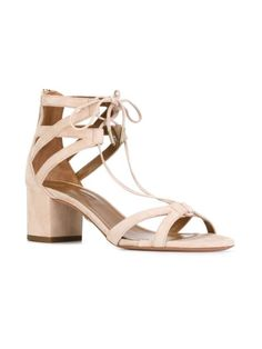 Aquazzura ankle tie sandals