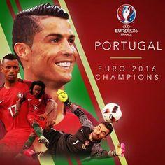 Portugal champion euro 2016.
