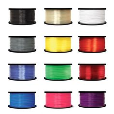 White ABS 1.75 mm; 1 kg//2.2 lbs ZYLtech 3d Printer Filament