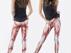 Muscle-covered leggings take the skin out of skintight - CNET Mobile