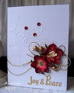 ... Cards on Pinterest   Paper Crafts, Poinsettia and Christmas Cards