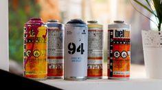 Cannette graffiti décoration