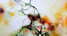 Art by Rikke Darling - Fungus (70x130 cm.)