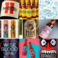 En lo más fffres.co: Los 100 mejores diseños de cerveza del mundo: Cerveza: la bebida internacional por excelencia. Todas tienen…