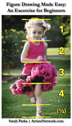 Great ideas - How to Use Common Art Concepts to Draw a Child, at ArtistsNetwork.com #drawing #figure #art