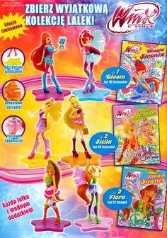 ¡Nuevas revistas Winx Club Sirenix a la venta en Polonia!